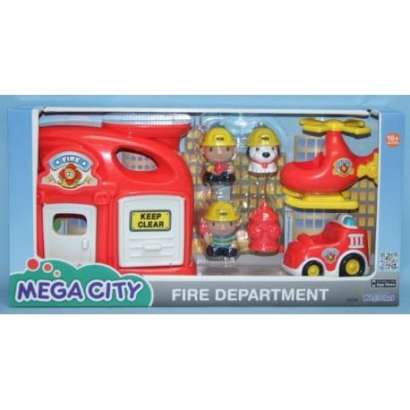 Игровой набор Mega City Пожарная станция 32804