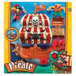 Игровой набор Keenway Приключения пиратов Битва за остров (10754)