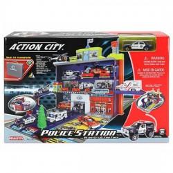 Игровой набор Полицейский участок (3 уровня с машиной) 28551