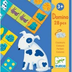Игра детское домино Djeco Цвета животных 08111