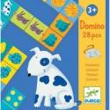 Игра детское домино Цвета животных DJECO 08111
