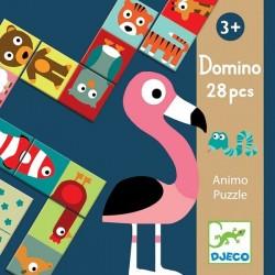 Игра Домино Сложи животное Djeco 08165