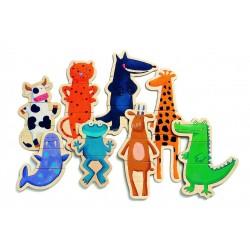 Игра Забавные животные на магнитах Djeco 03111