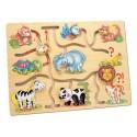 Игра - Подбери головы животным, Африка 88096 уценка