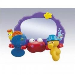 Зеркало для ванной 236 с расческой, пищалкой, вкор.28*9*19.5см