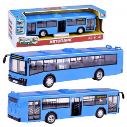 Автобус 9690-D на батарейках в коробке