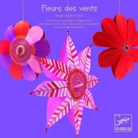 Декоративная подвеска Djeco Цветы ветров (DD04951) уценка
