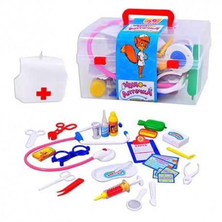 Доктор M 0459 U/R, аксессуары доктора в чемоданчике