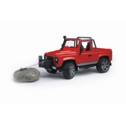 Bruder Джип Land Rover Defender Pick Up, M1:16 (02591)