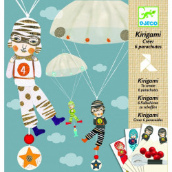 Художественный комплект Кригами Мальчики с парашютом DJ 08772 уценка