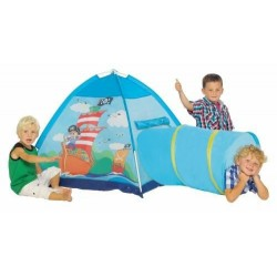 Детская палатка Five Stars Пираты с туннелем 456-15 уценка