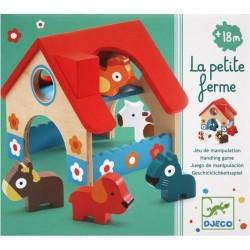 Деревянная ферма (5 животных) Djeco 06388 уценка