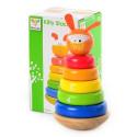 Деревяная игрушка Пирамидка MD 0539 собачка
