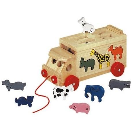 Грузовик с животными Bino (84068)