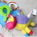 Вибрирующая игрушка-подвеска с зажимом Коровка (122BR)