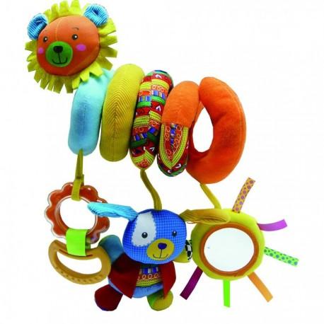 Активная игрушка с грызунком и зеркалом Счастливая семья (910НА)