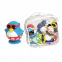 Игрушка для ванны Пингвины на пляже 23210 уценка