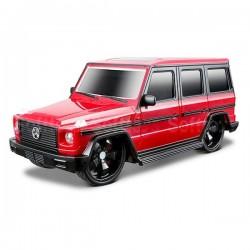 Автомобиль на радиоуправлении Maisto 1:24 Mercedes-Benz G-Class красный (81051) уценка