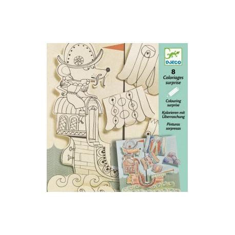 Художественный комплект для рисования Djeco Путешественники 09636