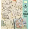 Художественный комплект для рисования Путешественники DJ09636 уценка