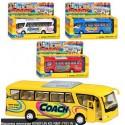 Автобус KS 7101 W мет., откр. дверь, 4 цвета, кор