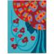 Художественный комплект рисование цветным песком Голубые принцессы DJ08637 уценка