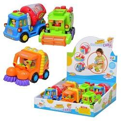 Набор спецтехники 386 Huile Toys