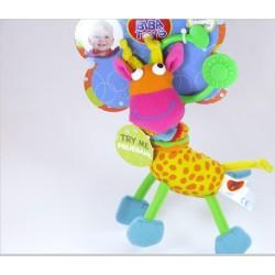 Игрушка-подвеска Biba Toys Счастливый жираф 033JF