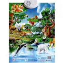 Обучающий плакат Зоопарк 7030