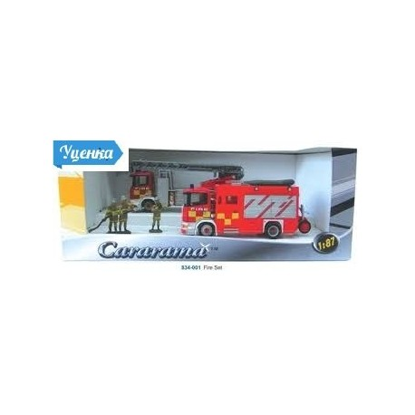 Игровой набор 1:87 Пожарники 834-001
