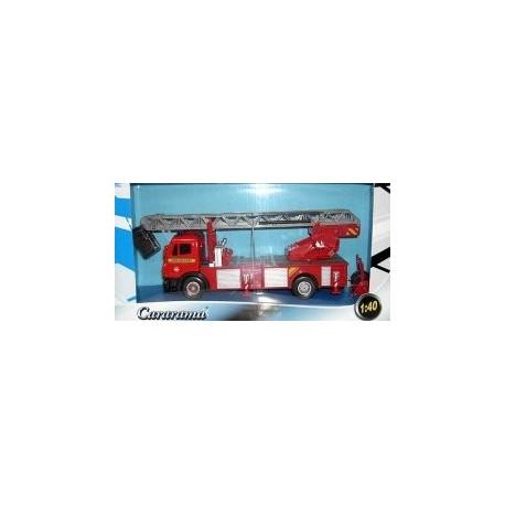 Автомодель 1:40 МВ Пожарный автомобиль с лестницей 290-064 уценка