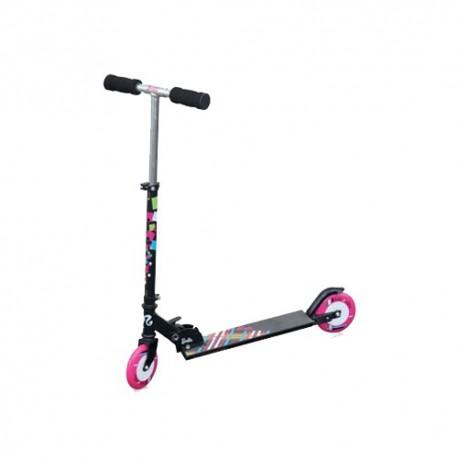Самокат Barbie Fabulous ,алюминий,колеса125 мм,87А подшипник- ABEC 5,вес 2,6 кг
