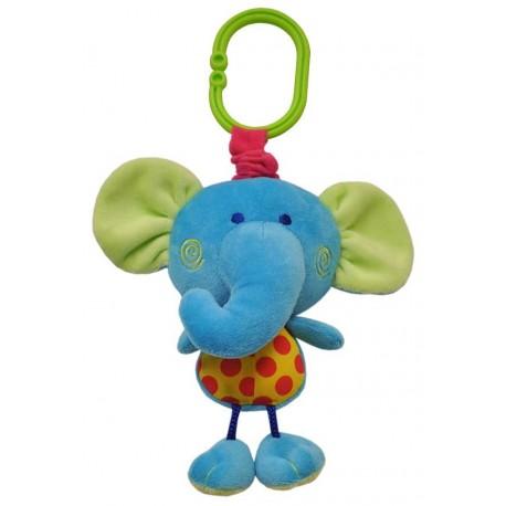 Игрушка-подвеска вибрирующая Слон со звуком (8540)