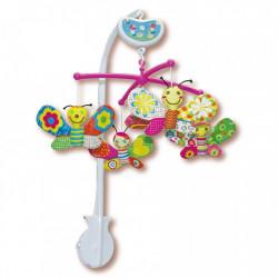 Музыкальный мобиль Biba Toys Бабочки BM116