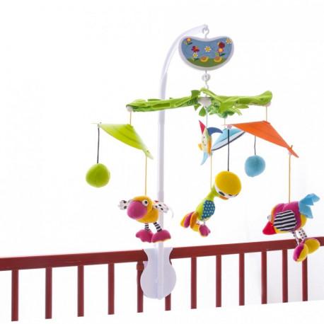 Музыкальный мобиль Biba Toys Райские птички GD030