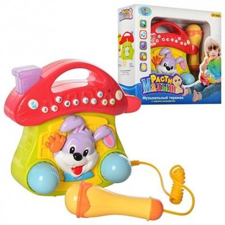 Музыкальный теремок Joy Toy 9381