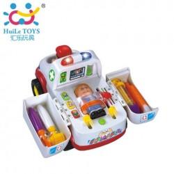 Игрушка Huile Toys Машинка Скорая помощь (836)