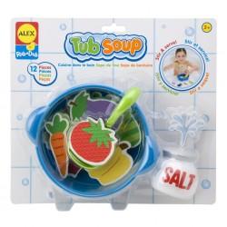 Набор стикеров для ванной Суп ALEX 801W