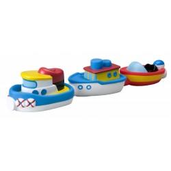 Набор лодок на магнитах для ванной ALEX 823W