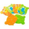 Набор накладок для ванной BABY TEAM 7420
