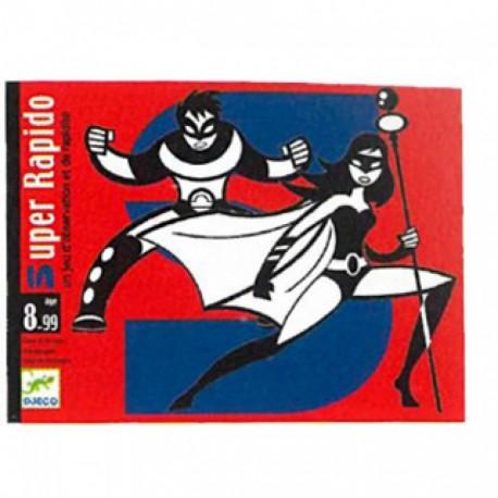 Карточная игра Супер Рапидо , Djeco 05198