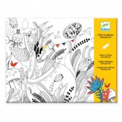 Художественный комплект для рисования-разукрашка Бал бабочек DJ09645 уценка