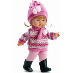 Кукла Валерия цвет одежды розовый Llorens 28см