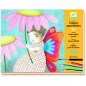 Набор для творчества раскраска-аппликация художественная мастерская DJ 08611 уценка