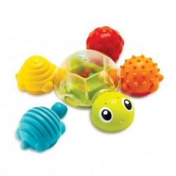 Развивающая игрушка-конструктор для купания Черепашки , 005359S, уценка