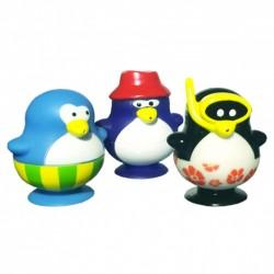"""Игрушка для ванны """"Забавные пингвинчики, набор № 2"""" 3 шт. 23203"""