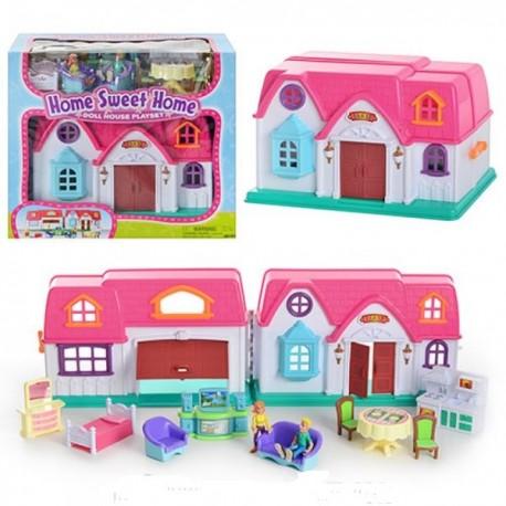 Игровой набор Keenway Кукольный дом с предметами (20151)