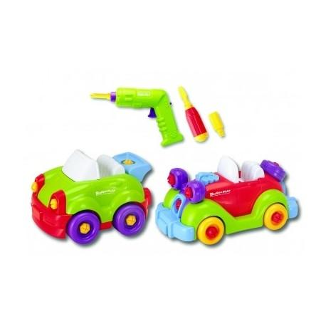 Конструктор Build Play Машинки 2 шт, 2 в 1 Keenway 11865