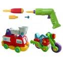 Конструктор Build&Play Пожарная машина и мотоцикл Keenway (K11864)