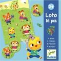 Djeco Игра детское лото 4 друзей 08124 уценка